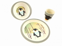 Bambuservis, pingvin