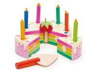 Tårta, regnbåge